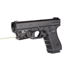 Glock picatinny тактический лазер и лазер фонарик сомбо для пистолета самооборона