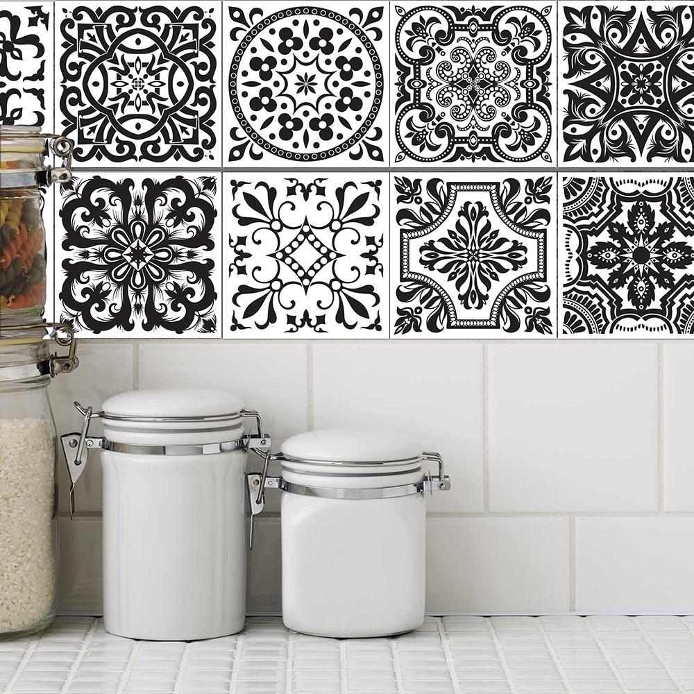 Aliexpress.com : Buy Waterproof Wall sticker Retro Tile Tiles ...