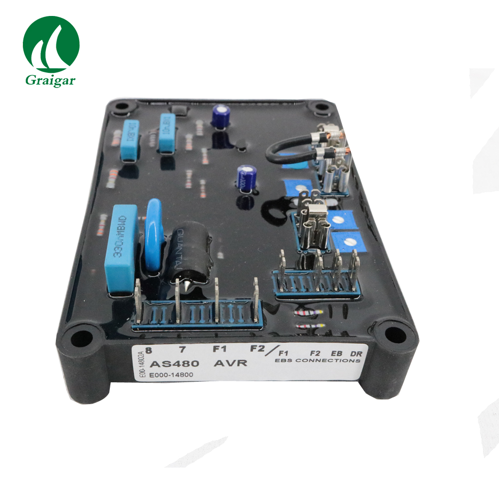 Parti del Generatore elettrico Stabilizzatore di Tensione AVR AS480Parti del Generatore elettrico Stabilizzatore di Tensione AVR AS480