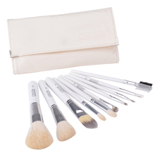 Superior Professional Soft Cosmetic Make up Brush Set Woman's Toiletry Kit 10 Pcs/set Make up Brush With Bag Pink $k