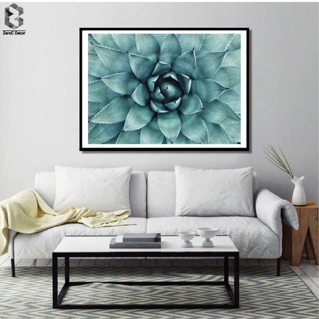 Succulent Posters And Prints Wall Art Nordic Canvas Painting Pictures For  Living Room Home Decor