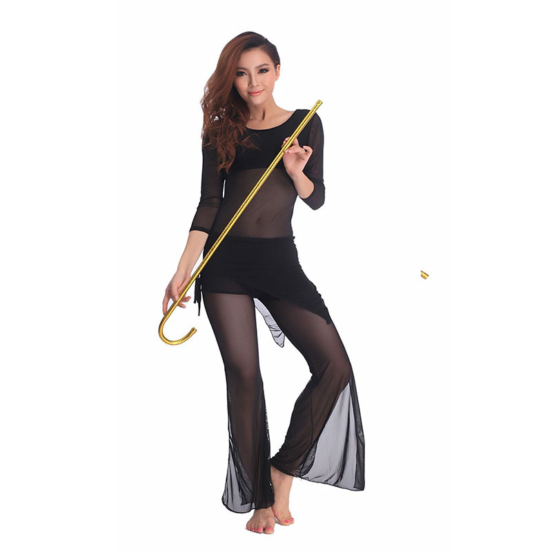 10pcs/lot 2018 Newest Belly Dance Cane Belly Dancing Crutch Jazz Canes Belly Dance Accessories 95cm