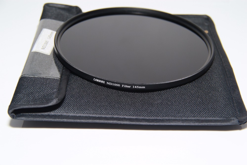 TIANYA 145mm ND1000 Ultra Thin Neutral Density ND Filter 10 Stop for canon nikon pentax sony camera tianya 145mm filter holder adapter   cpl