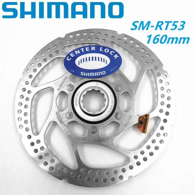 160mm Centerlock Mount Pair NEW Shimano SM-RT54 MTB Bicycle Disc Brake Rotors