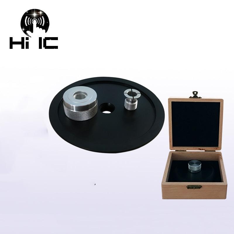 Unterhaltungselektronik Liberal Hohe-ende Pom Lp Vinyl Plattenspieler Disc Stabilisator Rekord Gewicht/clamp Plattenspieler Vibration Ausgewogene Mit Holz Paket Box