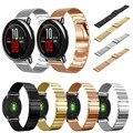 Hight qualtiy relógio milanese + pulseira de aço inoxidável pulseiras de relógio bandas strap fivela preto cinta cinta para xiaomi amazfit huami