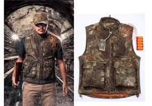 New 2014 Python Veins tactical vest gilet tactique Wild amphibious black green hunting Molle Tactical bulletproof xxl