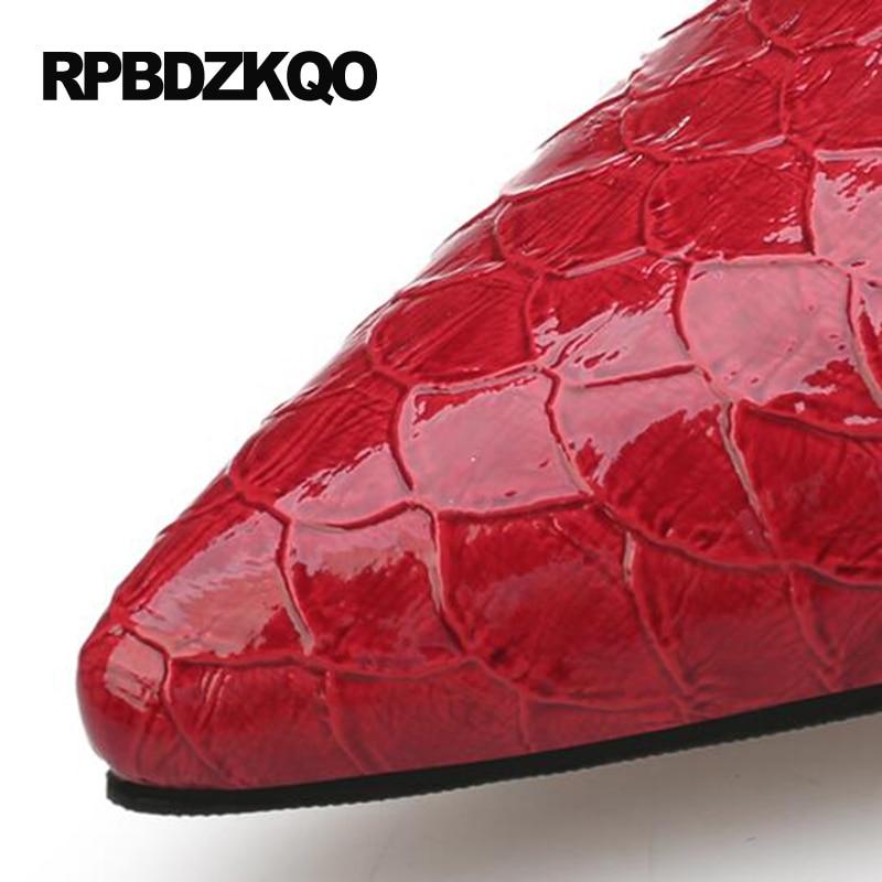 Tobillo 34 Extra red Rojo 4 Verde Zapatos 8cm Correa Black Pequeña black 5cm 8cm Delgado red Vestir green 2017 8cm T De Altos green Mujeres 5cm Zapatillas Tacones Talla 5cm Tamaño v0YpnY
