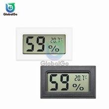 Mini thermomètre numérique LCD capteur thermomètre hygromètre thermographe pour Aquarium réfrigérateur sonde réfrigérateur congélateur maison
