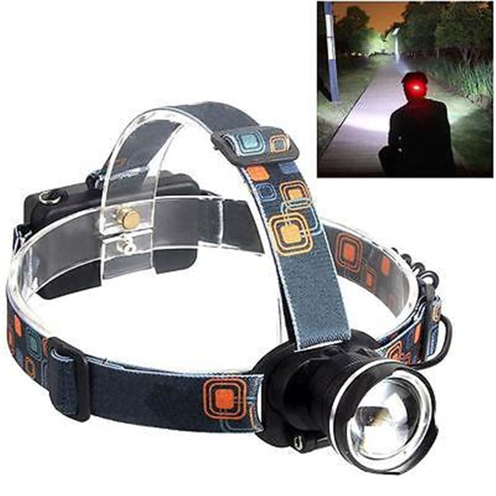 3000LM  XML-T6 LED Zoomable   Headlight Head Torch Camping Black sitemap 111 xml