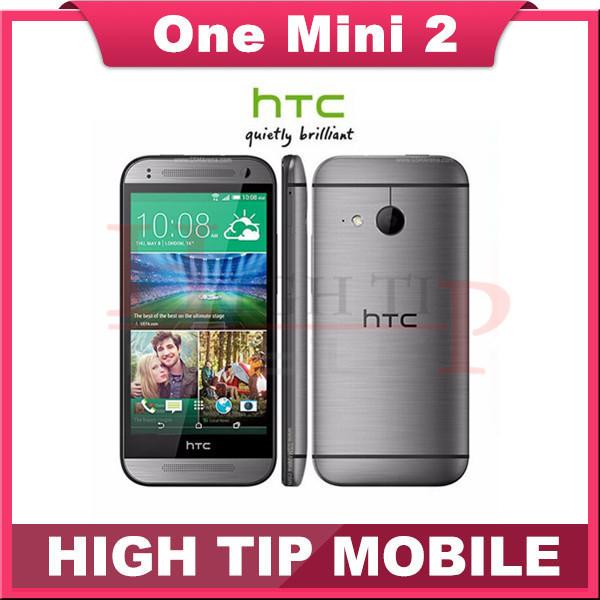 Htc one mini 2, desbloqueado un M8 mini teléfonos celulares 16 GB Quad core WIFI 4.5 pulgadas de pantalla táctil reformado