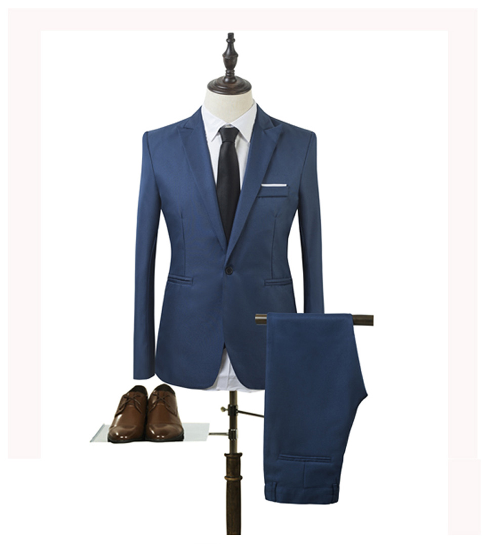 Luxury Men Wedding Suit Male Blazers Slim Fit Suits For Men Costume Business (3)