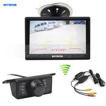 DIYSECUR Wireless 5inch Rear View Monitor Car Monitor Car Van Truck Parking IR Night Vision Reversing