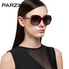 PARZIN Classical Female Square Polarized Sun glasses Luxury trending oculos de sol feminino Big Frame Sunglasses With Logo Box