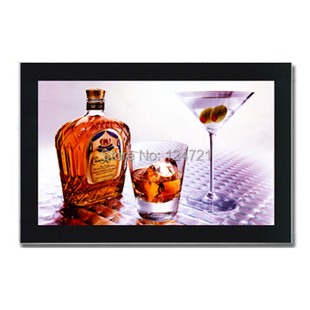 Освещенные Фото Алюминиевая рамка A4 знак, Светодиодный светящийся магнитный для похудения