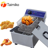 Small Square Shape Kitchen Supply Deep Fryer Mini Stainless Steel French Fries Net Fry Fryer Basket Mesh Basket Strainer