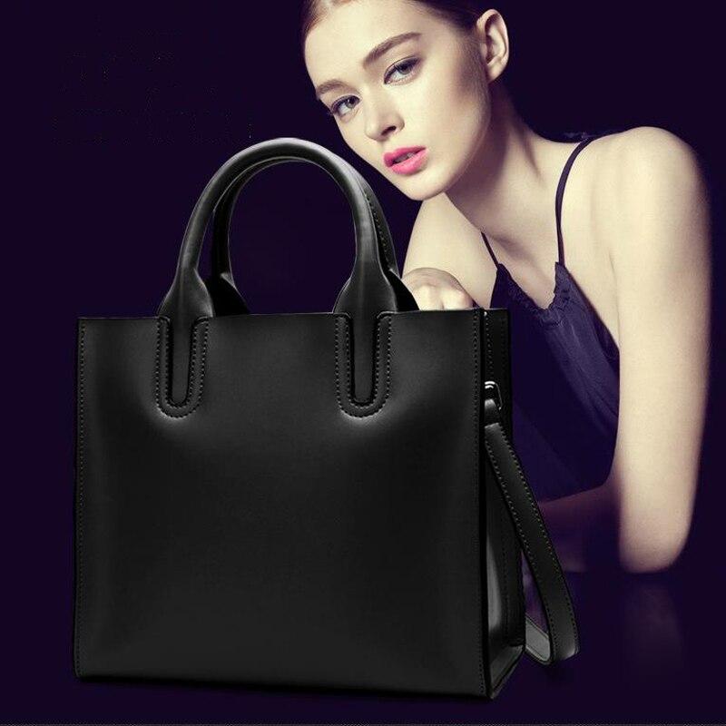 Mode sac à bandoulière en cuir véritable pour femme simple joker sacs à poignée supérieure pour femme sac fourre-tout vertical occidental sac à bandoulière pour femme