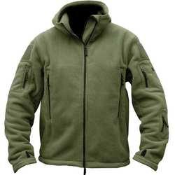 Зимняя Военная Униформа Форма одежда Тактический теплый сплошной цвет пальто камуфляж с капюшоном камуфляж одежда для мужчин