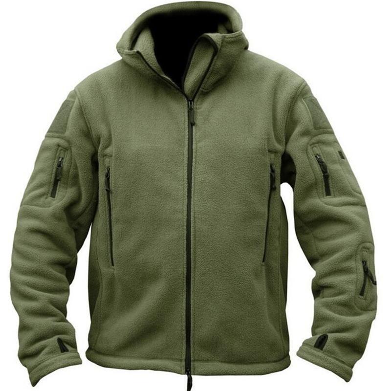 Vêtements uniformes militaires d'hiver tactique chaud couleur unie uniforme manteau Camouflage à capuche armée Camo vêtements pour hommes