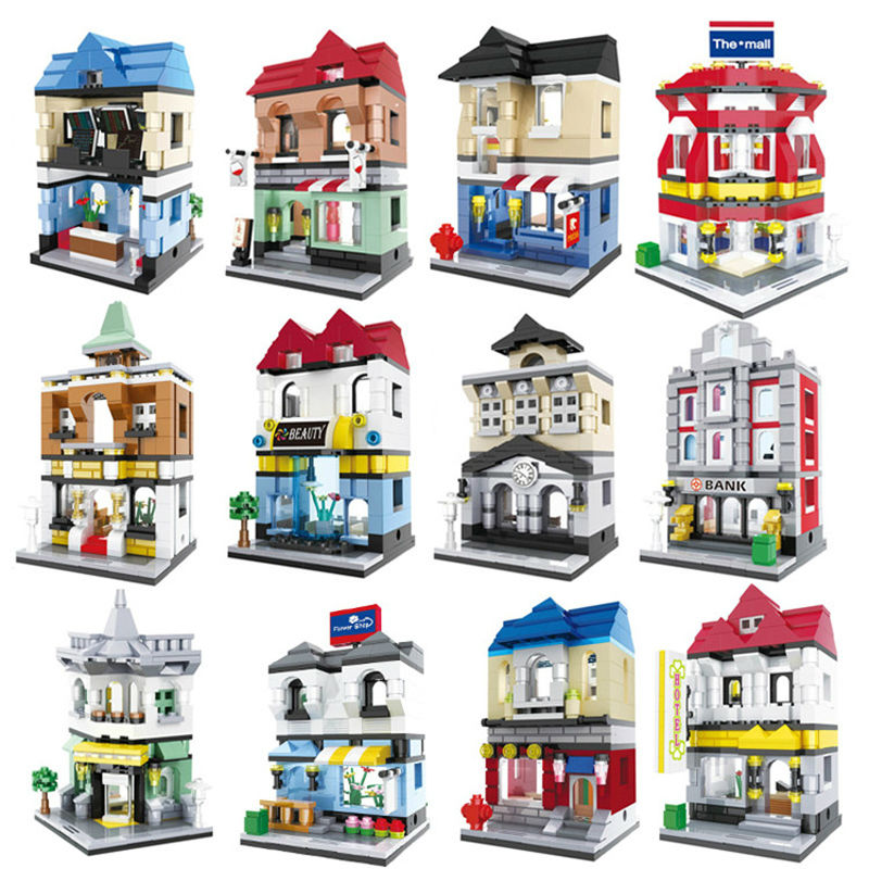 Toy Building Set For Boys : Aliexpress buy sets new scene mini building