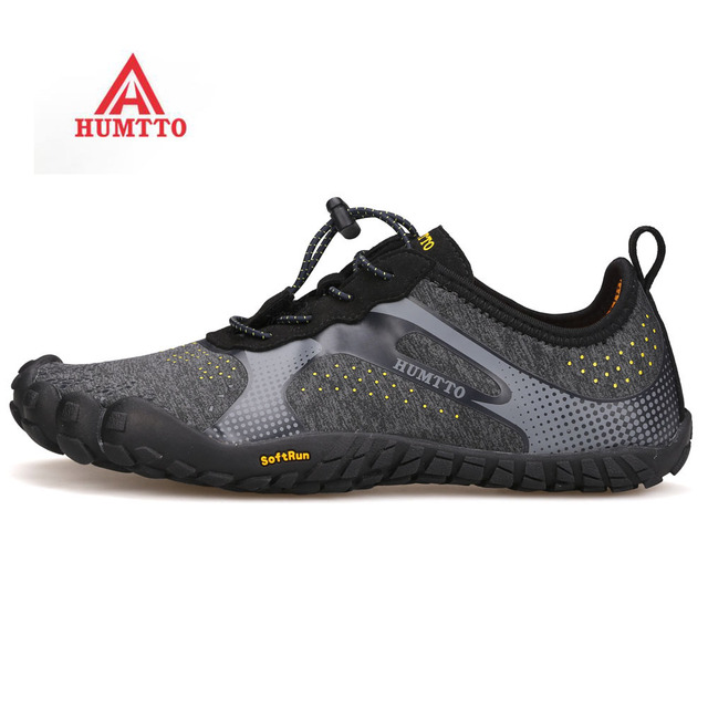 2018 HUMTTO Men's Outdoor Five Finger Hiking Trekking Shoes Sneakers For Men Sports Trial Climbing Mountain Shoes Sneakers Man
