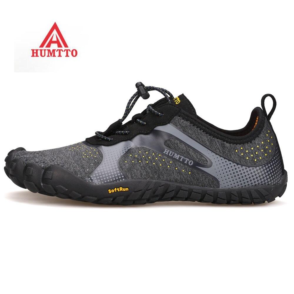2019 HUMTTO 男性の屋外 5 指ハイキングトレッキング靴スニーカー男性のためのスポーツトライアル登山靴スニーカー男  グループ上の スポーツ & エンターテイメント からの ハイキング靴 の中 1