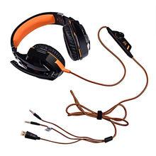 Auriculares Estéreo LED para Juegos