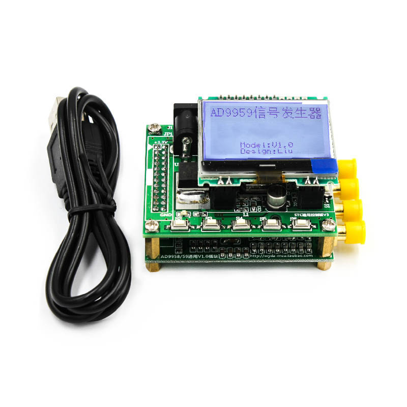 цена RF Signal Source AD9959 Signal Generator AD9854 Upgrade Quad Channel DDS Module