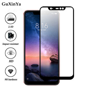 Image 3 - Screen Protector For Xiaomi Redmi Note 6 Pro Full Glue Glass Tempered Glass For Xiaomi Redmi Note 6 Pro Glass Redmi Note 6 pro