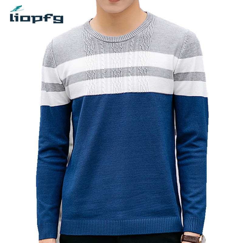 Pioneer Camp 2017 New Spring Autumn Brand clothing Men Sweaters Pullovers Knitting fashion Designer Casual Man Knitwear WM114