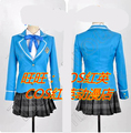 Ensemble Stars Transfer Student Girl's School Uniform Cosplay Costume Any Size