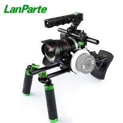 Lanparte BMPCC Camera Basic Rig Kit for Blackmagic Pocket Cinema Camera with Chest Pad