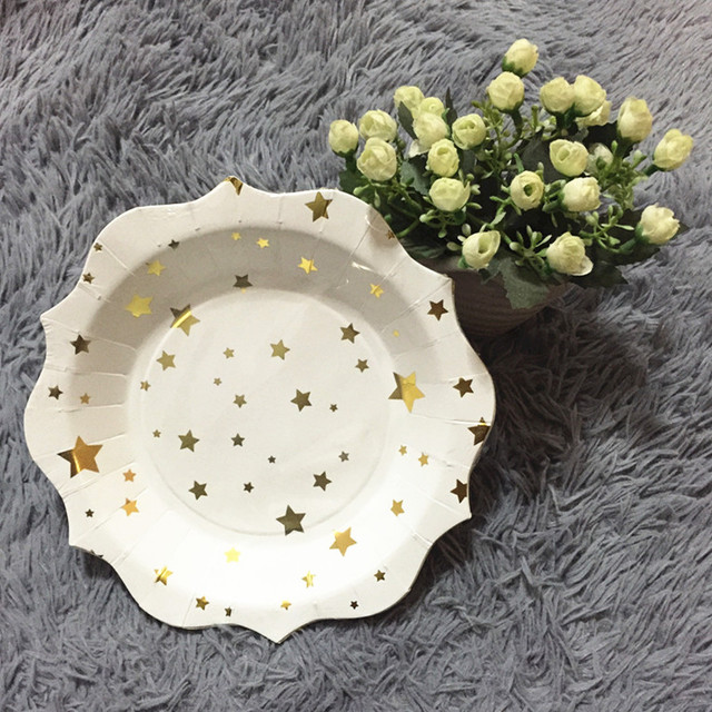 Free Shipping 600pcs 7inch Disposable Food Tray Eco-friendly Food Paper Plates Birthday Wedding Holiday & Free Shipping 600pcs 7inch Disposable Food Tray Eco friendly Food ...