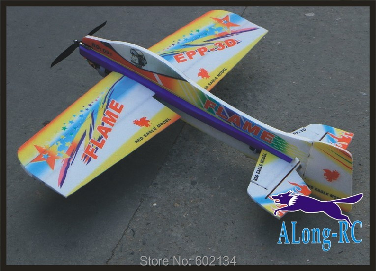 EPP PLANE/ RC 3D airplane/RC MODEL HOBBY TOYS/-wingspan 1000mm Flame 3D EPP plane(kit) цена
