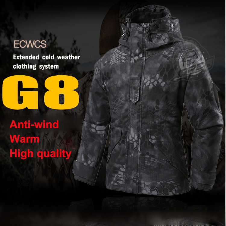 2019 Softshell M-65 Қысқы G8 ECWCS салфеткалар - Спорттық киім мен керек-жарақтар - фото 2