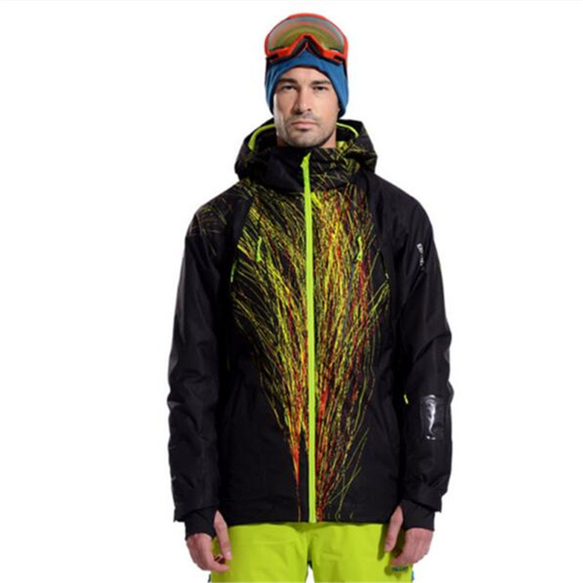 2017 New Outdoor Sportswear For Male Winter Snow Coat Pelliot  Waterproof Breathable Thermal Snowboard Jackets