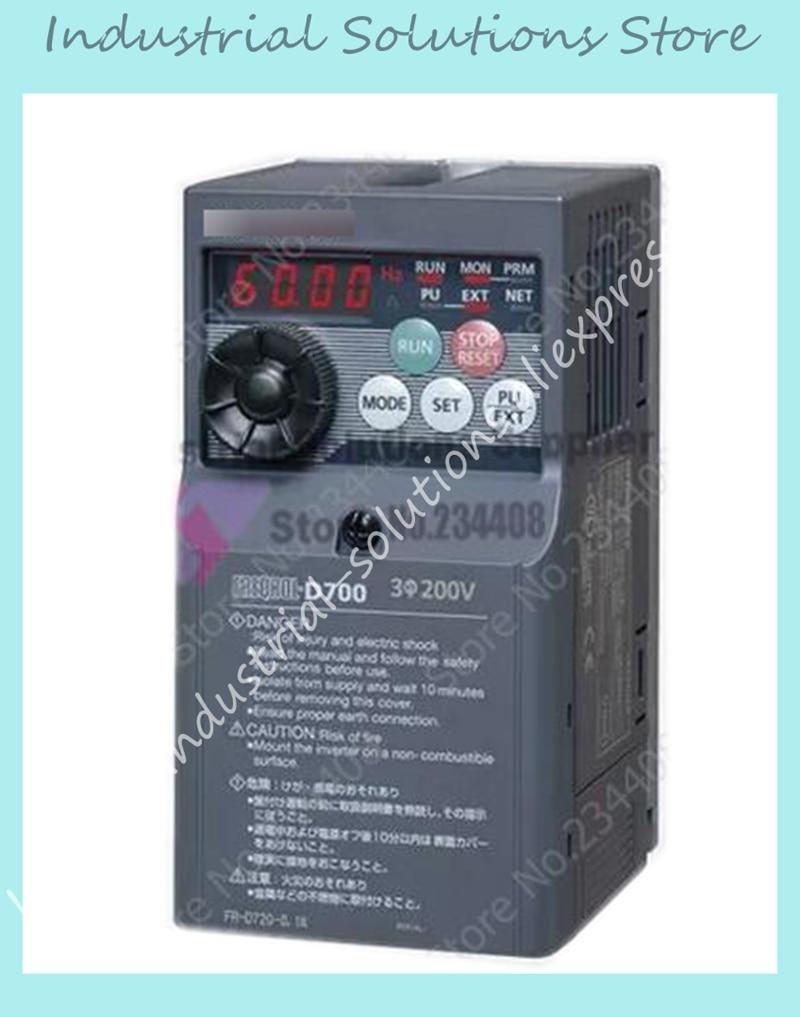 Inverter FR-D720-0.4K k 220V 0.4kw New Original new original inverter 30400v fr e720s 2 2 k cht