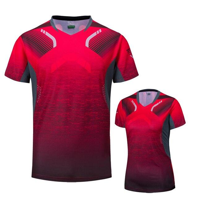 2018 Badminton shirts Men / Women, sports Gym clothing Tennis shirts , table tennis shirt , running tshirt 1025