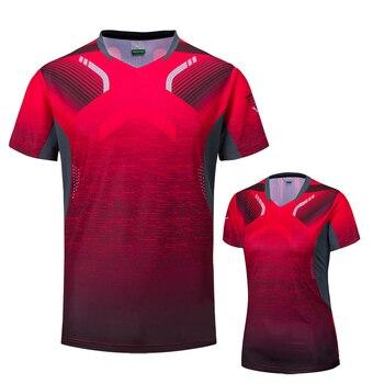 2018 Badminton shirts Men / Women, sports Gym clothing Tennis shirts , table tennis shirt , running tshirt 1025 photo shoot
