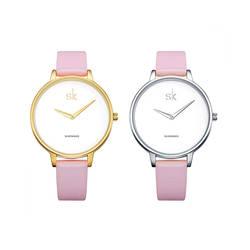2019 Роскошные брендовые модные повседневные женские часы с кожаным ремешком водонепроницаемые кварцевые Женские Простые Стильные Часы