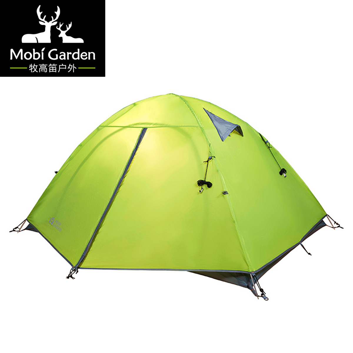 ФОТО Outdoor tents breathable water-resistant double layer tent camping hiking qr2