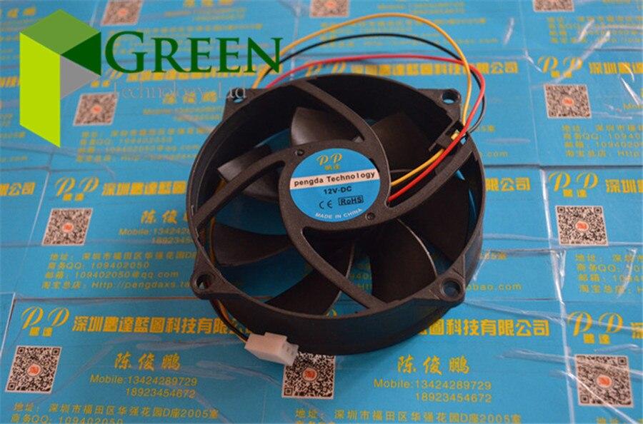NEUE 9025 9225 90 MM 9 cm Rund fan PC CPU lüfter 12 V 0.3A computer gehäuselüfter 3pin