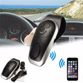 Universal Bluetooth 3.0 Handsfree Car Kit Speakerphone Sunvisor Clip with Car Charger and USB Cable Support 2 Phones Speaker