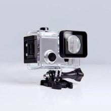 Корпус камеры, боковой открытый защитный чехол скелета для G3 Git3 Gitup Git2 Git2P, 90 градусов, экстремальный шлем, мини Экшн-камера
