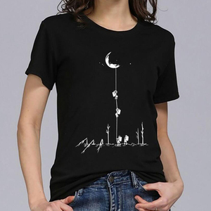Pick The Moon Funny Graphic T