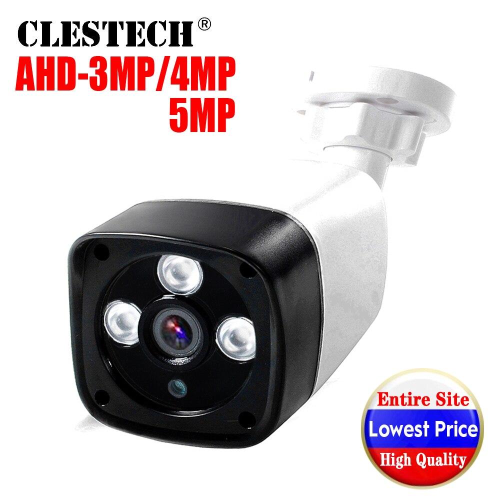 3LED Array CCTV AHD Camera 5MP 4MP 3MP 1080P SONY-IMX326 FULL Digital HD AHDH outdoor Waterproof IR night vision have Bullet