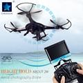 Cheerson cx-32c quadcopter drone con cámara de 2mp 2.4 ghz 4ch 6-axis gyro helicóptero con luz led hight tienen aviones rc toys