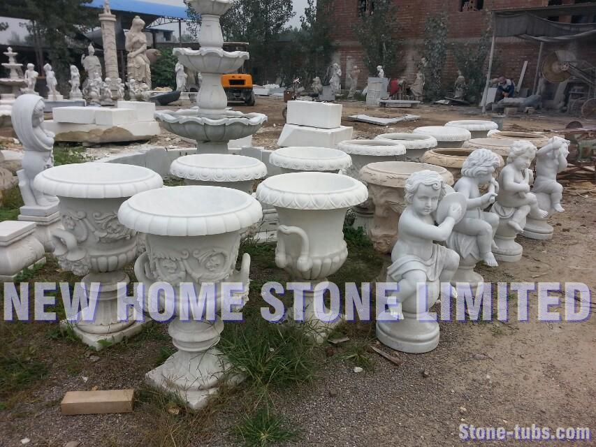 Stone Pots For Garden Planters And Urns 2015 New Style Garden Flower Pots  NEWHOMESTONE Garden Planters Factory Modern Stone Pots In Flower Pots U0026  Planters ...