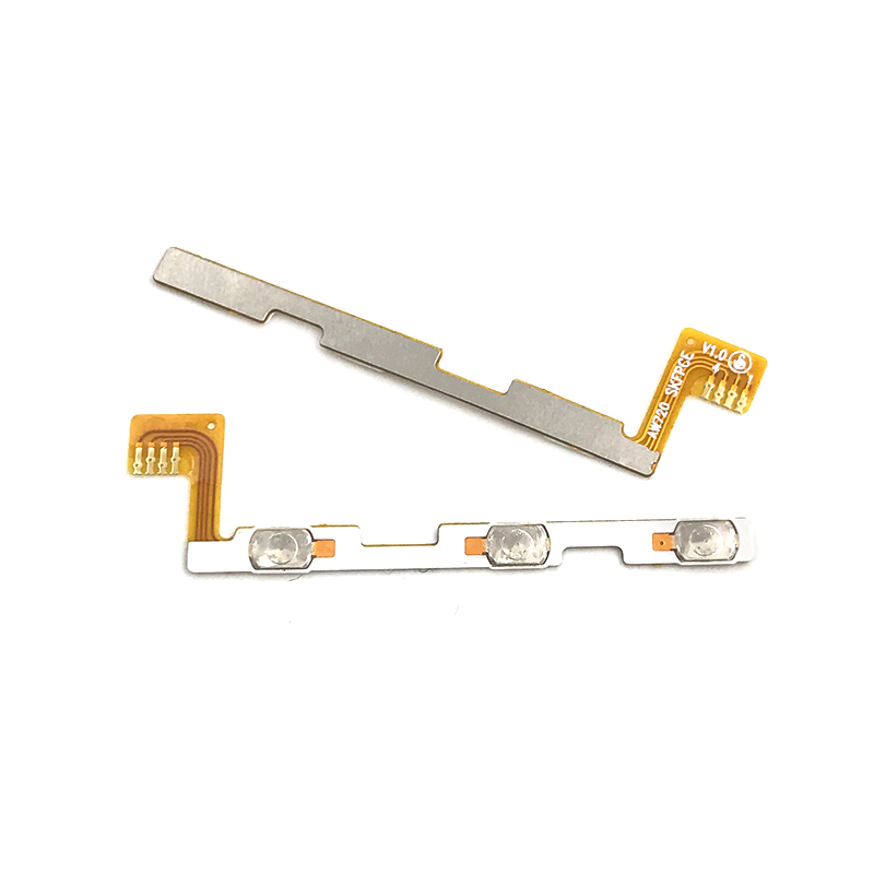 New Compatible For Micromax Q380 Volume Power On/off Button Key Flex Cable Ribbon Replacement Parts