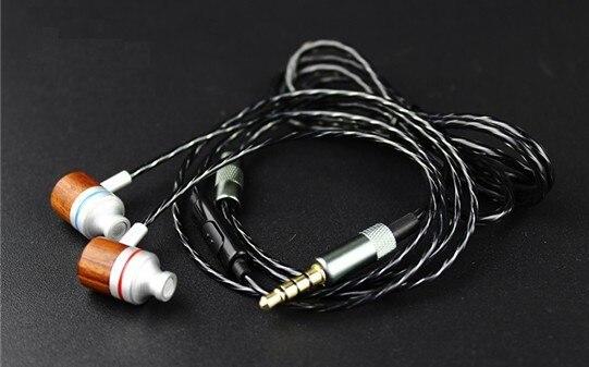Diy custom earphone fever High-end hifi ebony ear strong bass vocals Universal epiphone ltd matt heafy signature les paul custom ebony